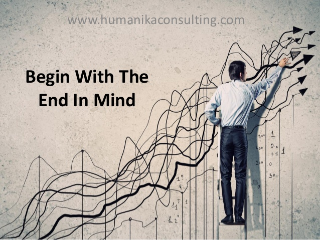 Habit 2. Begin With the End In Mind