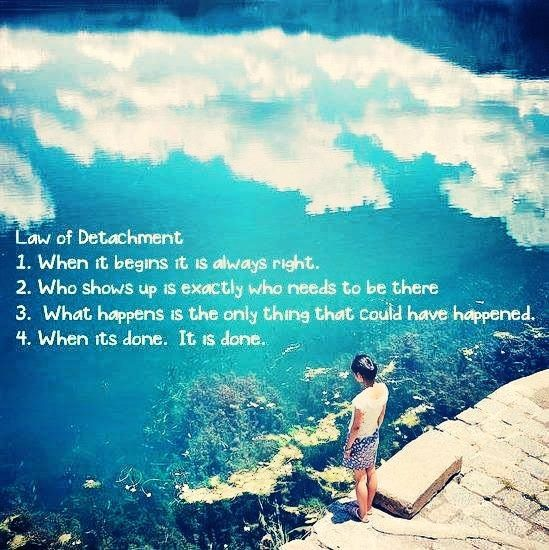 The 7 Spiritual Laws of Success: Law #6 The Law of Detachment