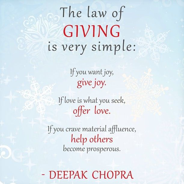 The 7 Spiritual Laws of Success: Law #2 The Law of Giving & Receiving