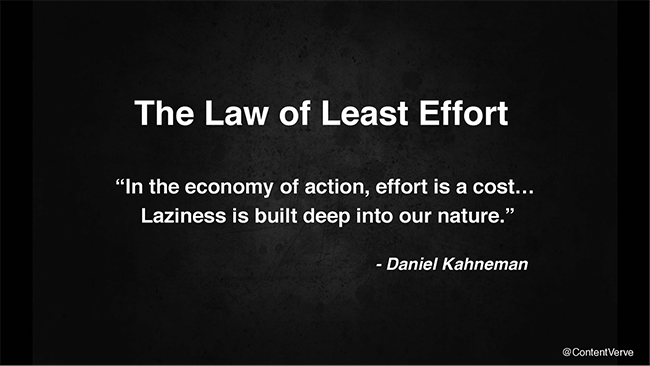 The 7 Spiritual Laws of Success: #4 The Law of Least Effort
